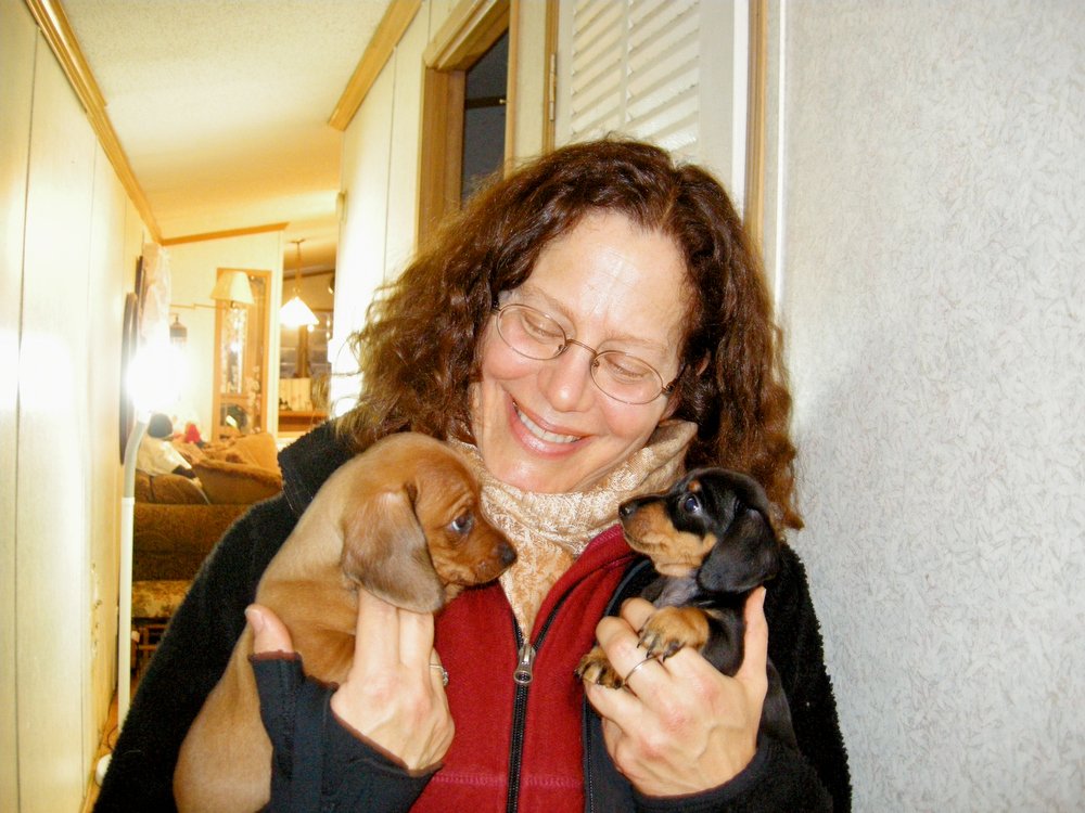 photograph of ellen miles author of the puppy place books