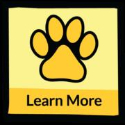 Ellen Miles website puppy print artwork navigation button